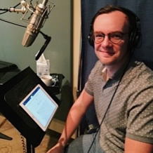 Check out this behind-the-scenes video of me recording the audiobook edition of I Have Something To Tell You.